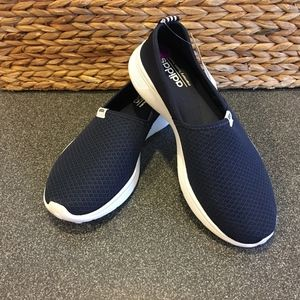 Adidas Blue Lite Racer Slip-on Sneakers